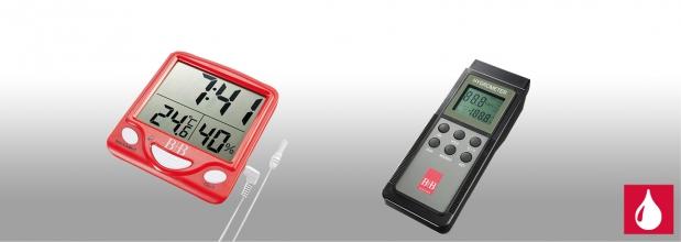Feuchte- und Temperaturmessgeräte