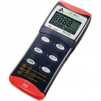 Digitalthermometer zum Anschluss von 2 Thermoelementen