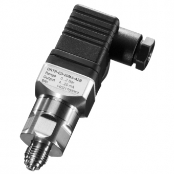"Pressure transducer stainless steel G1/4"" 0-10 bar relative 10 V"