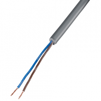Copper cable 2 x 0,25 mm², PVC/PVC, 10 m