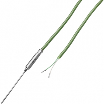 Mineral insulated thermocouple with 2 m silicon cable type K Ø6.0 NL100