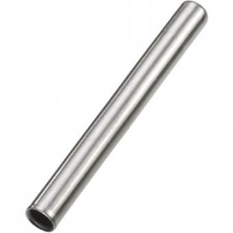Schutzhülse aus Edelstahl, Ø4xL35xW0,4 mm
