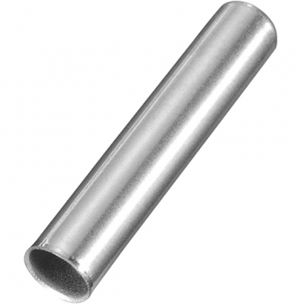 Stainless steel protective sleeve, Ø6xL30xW0,4 mm