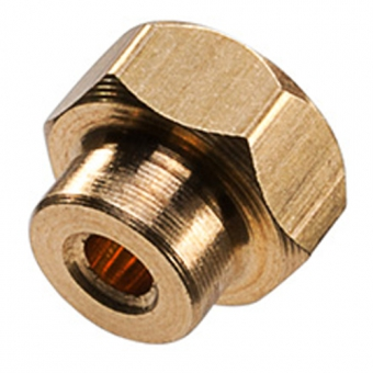 Hexagonal insert for B+B miniature thermocouple connector
