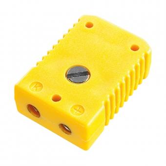 Standard socket, type K, yellow