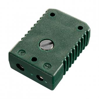 Standard socket, type K, green