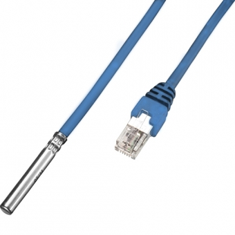 Temperaturfühler DS18S20 mit 20m-Anschlusskabel und RJ11-Stecker