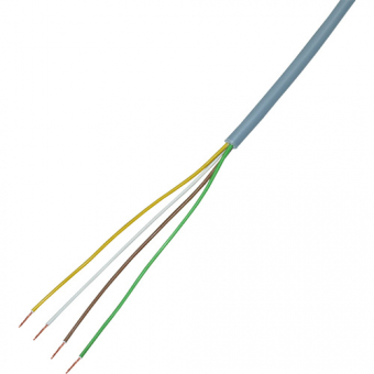 Copper cable 4 x ,014 mm², PVC/PVC, 10m