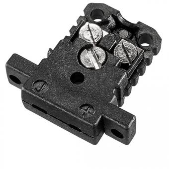 Miniaturdose Typ J, schwarz