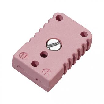 Miniature socket, type N, pink