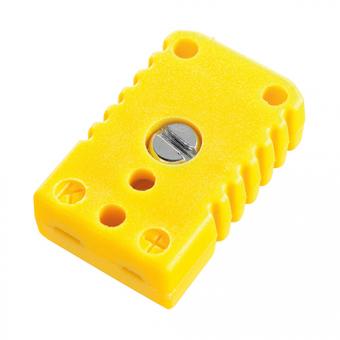 Miniature socket, type K, yellow