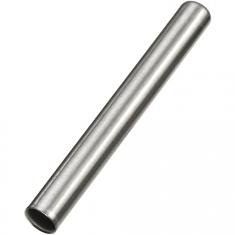 Stainless steel protective sleeve, Ø6xL50xW0.4 mm