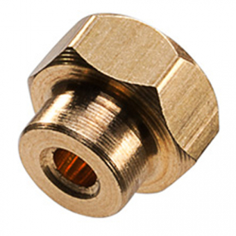 Hexagonal insert for B+B miniature thermocouple connector