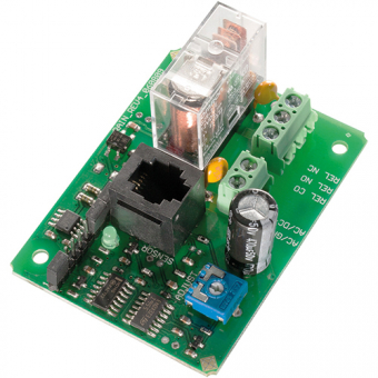 Sensor switching step with impedance evaluation, dew and humidity switching module, 24V