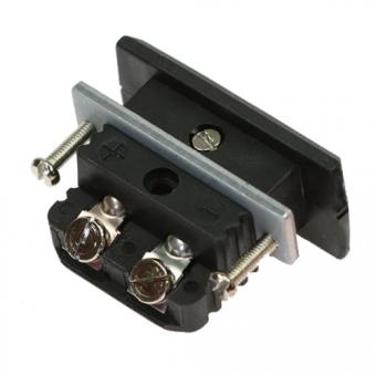 Standard-Kupplungsdose, Typ J, schwarz