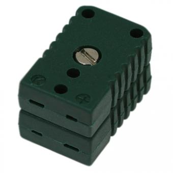 Miniatur-Doppelkupplung Typ K, grün