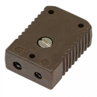 HTK standard socket, type K, brown, high temperature