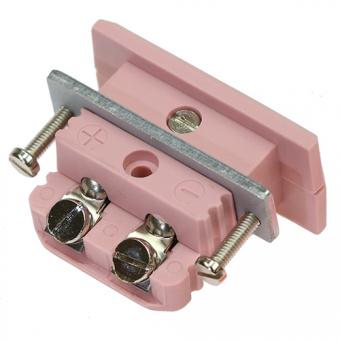 Standard panel socket, type N, pink