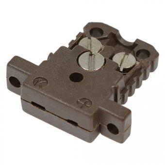 HTK-Miniaturdose Typ K, braun, high temperature