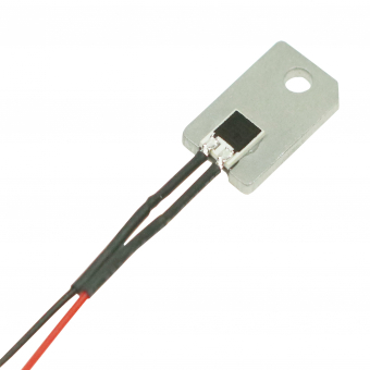 Resistive humidity sensor SHS-A4L mounted on carrier plate