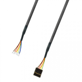 Connection cable for humidity and temperature probe module HY-ANA-10V and HYTE-ANA-10V, 2 m