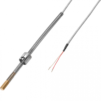Resistance thermometer Pt100/B/2 cable length 3m