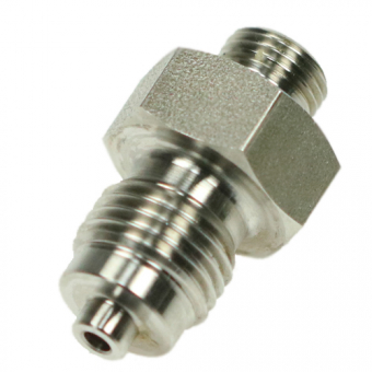 "Double threaded fittings G1/4"" / G1/8"""
