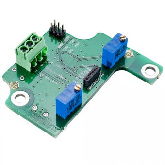 Evaluation electronics for ceramic pressure sensors 10 V