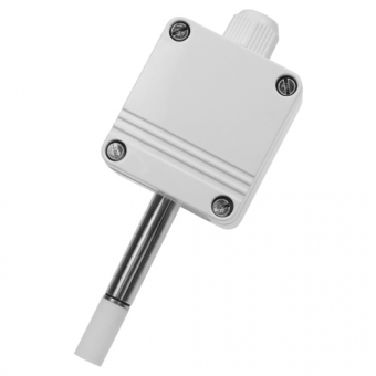 Humidity/ temperature probe (active) for outdoors, 10 V