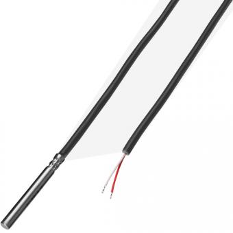 Kabelfühler 1xPt100/B/2 FEP/Sil