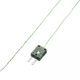 Air sensor type K, teflon insulated, nominal length 1000 mm