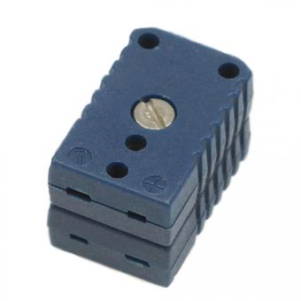 Miniatur-Doppelkupplung Typ T, blau