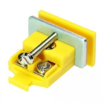 Miniaturkupplungsdose, Typ K, gelb