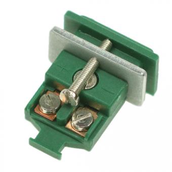 Miniatur-Kupplungsdose Typ S, grün