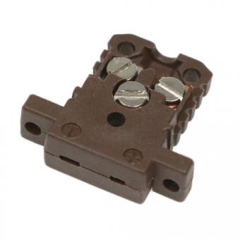 Miniaturdose Typ T, braun