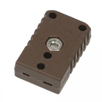 Miniaturkupplung Typ T, braun
