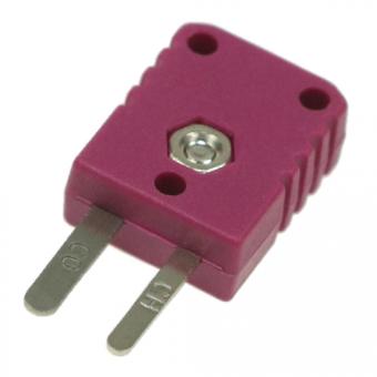 Miniaturstecker Typ E, violett