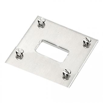 1-circuit panel for miniature panel sockets