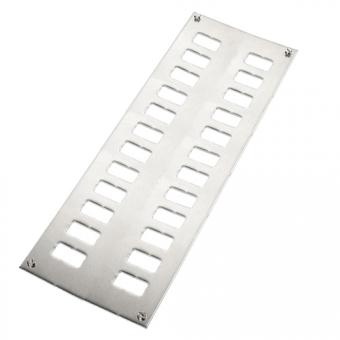 Paneele für Miniatur-Kupplungsdose 24 Fach/2 Reihen
