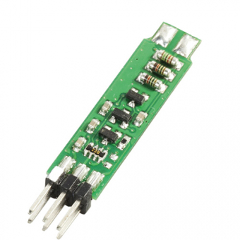 Temperature module with voltage output and I²C bus,-32...+224 °C