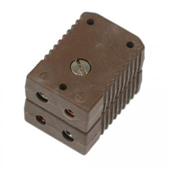 Standard-Doppelkupplung Typ T, braun