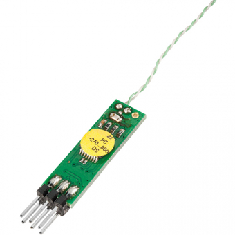Thermocouple module with digital I²C interface, -270...+1370 °C