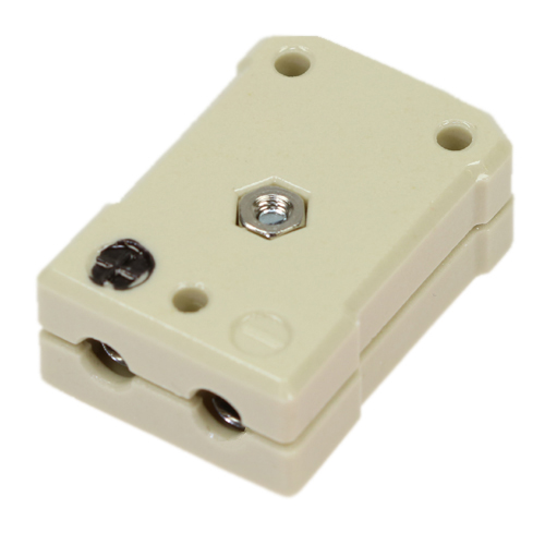 Standard ceramic socket, type J, black