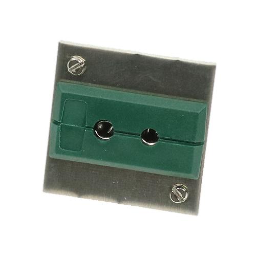 Paneele mit Standard-Kupplungsdose Typ K, 1Fach/1Reihe