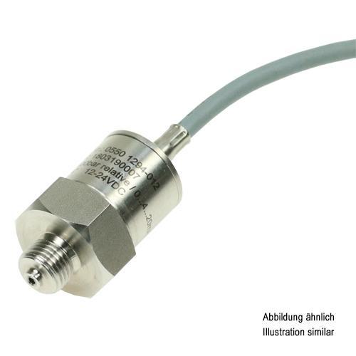 "Drucktransmitter Edelstahl G1/4"" 0-6bar relativ 10V Kabel 2m"