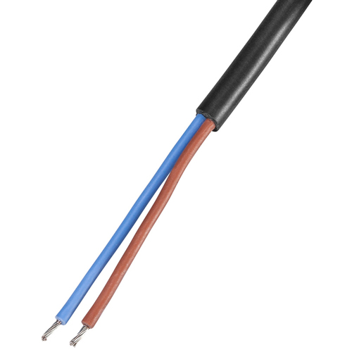 Kupferleitung 2 x 0,5 mm², Sil/Sil, 25 m