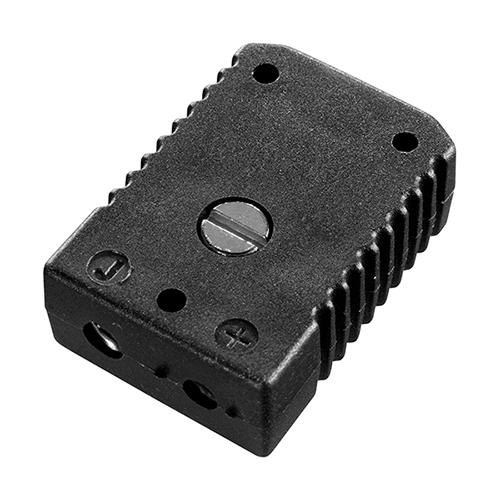 Standard socket, type J, black