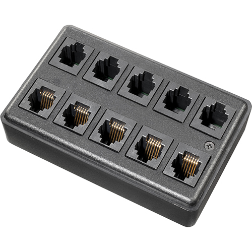 Distribution box 10- port with housing